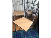 Set of 4 dining room chairs for sale