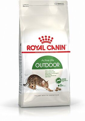 Royal Canin Feline Health Nutrition Active Outdoor Complete Dry Cat Food 400G