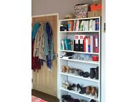 White Bookshelf (Argos) - like new!