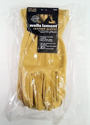 Wells Lamont Genuine Cowhide Leather Work Glove Choose Size M L Xl
