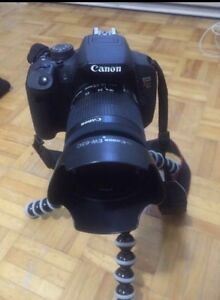 Canon rebel t5i NOT NEGOTIABLE (NEED TO SELL IMMEDIATELY)