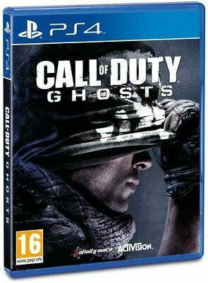 CALL OF DUTY GHOSTS PS4 VIDEOGIOCO ITALIANO PLAYSTATION 4 GIOCO MODERN GHOST