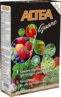 ALTEA Guano Planta de México Arancio Perú Abono 6-15-3 Pellet 1,5KG Orgánica