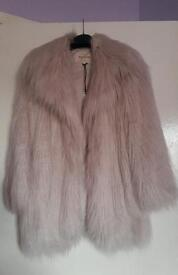 Brand new with tags River Island fur coat