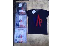 Moncler Givenchy Armani cp company Versace designer T-shirts S M L XL