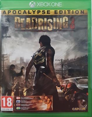 Dead Rising 3 Apocalypse Edition Xbox One Video Game Brand New Sealed