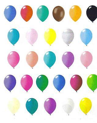 144 latex balloons 12