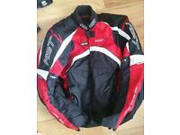 RST motorbike jacket size L