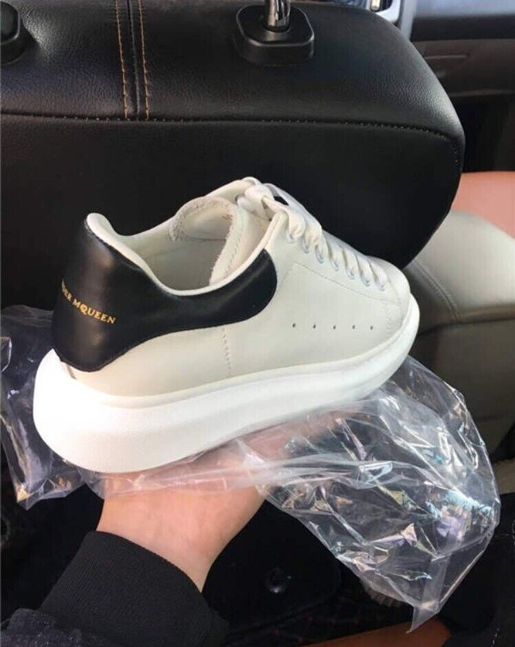 authorized site skate shoes attractive price Men's Alexander McQueen White/Black Trainers Size 9 | in Arnold ...