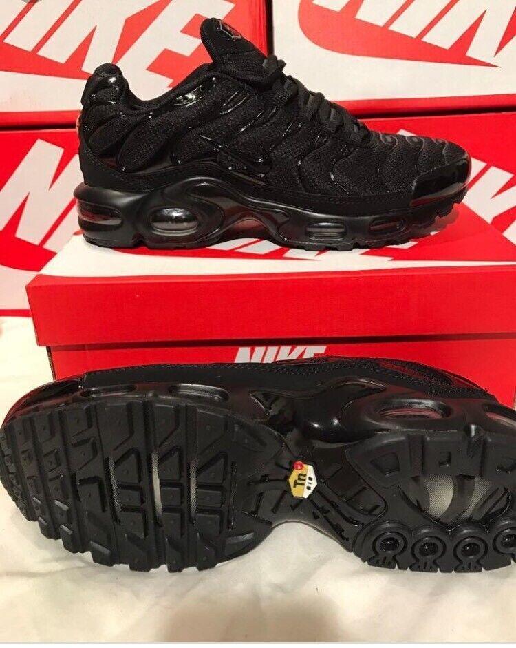 newest aaf6d 5300d Nike tns All Black Air Max Plus new in box Tn trainers | in Hucknall,  Nottinghamshire | Gumtree