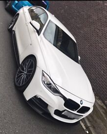 BMW 330d M Sport M Performance White SatNav not 335d 530d 535d 320d