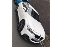 BMW 330d M Sport M Performance White SatNav not 335d 530d 535d 320d