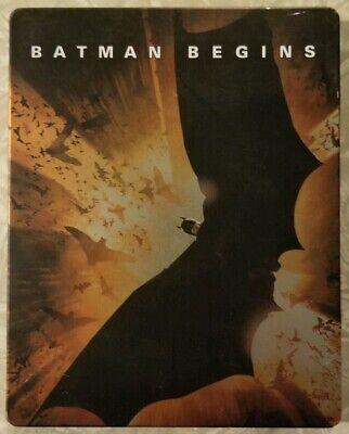 Batman Begins (2005, Blu-ray Disc, Steelbook)