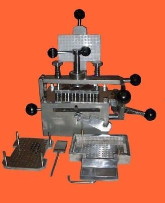 Capsule Filling Machine 100 holes, Size 0 Made in India Best