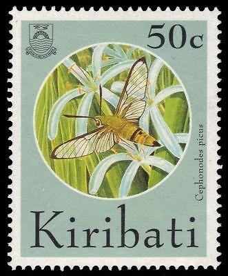 """KIRIBATI 644 (SG453) - Cramer Sphinx Moth """"Cephonodes picus"""" (pa12314)"""