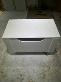 brand new hand made toy or blanket box