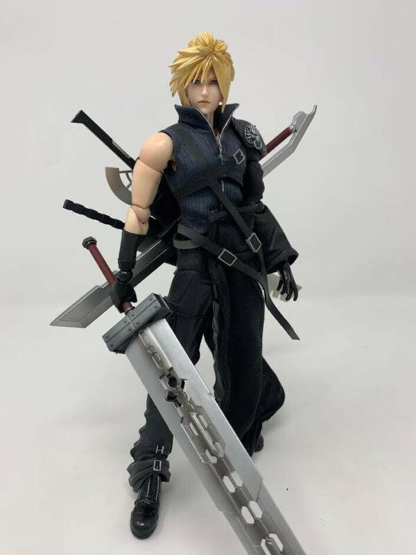 Final Fantasy VII FFVII Square Enix Play Arts Kai Cloud StrIfe