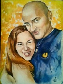 Portrait commission and other painting/drawing orders