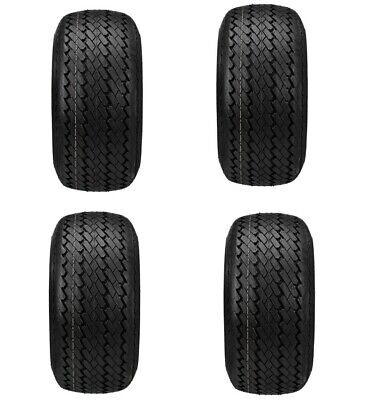 (4)18x8.50-8 Standard OEM Size DOT Golf Cart Tire  EZGO Club Car Yamaha