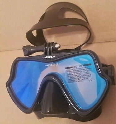 GOPRO MASK SPEARDIVER STEALTH with removable GoPro mount spearfishing