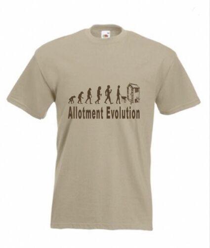 Id Rather be down the Allotment T-Shirt Funny t shirt gardening garden dad veg
