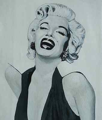 Marilyn Monroe - original acrylic painting on canvas