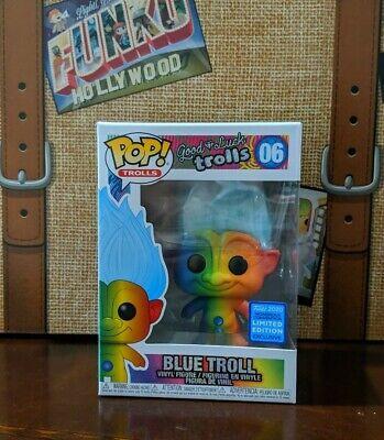 Vinyl Figure #06 Trolls Blue Troll with Hair Exclusive Pop