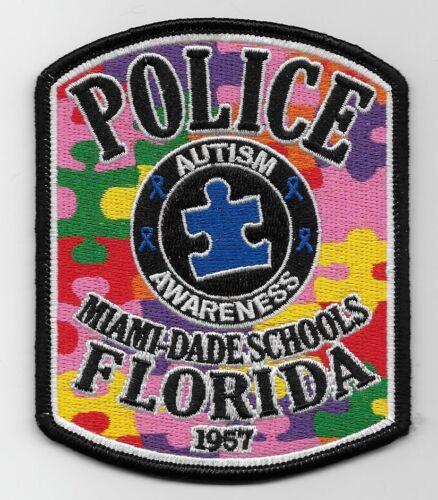 Autism Awareness Miami Dade School Police Sheriff State Florida FL
