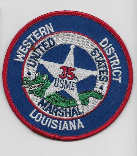 USMS US Marshal Western Dist Louisiana LA Police Sheriff State LA
