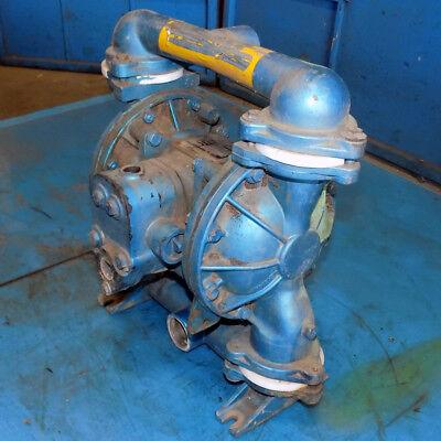 Warren Rupp Tgn-2-hi Air-powered Double Diaphragm Sandpiper Pump Model Eb1-a