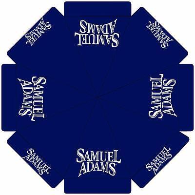SAMUEL ADAMS  9 foot BEER UMBRELLA MARKET PATIO STYLE HUGE NEW SAM ADAMS ()