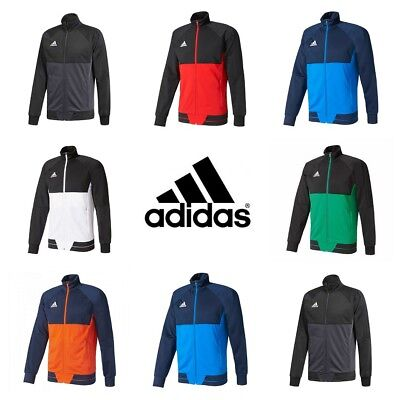 Adidas Tiro 17 Mens Training Jacket Track Top Jumper Gym Football Sweatshirt  Adidas Tiro Training Jacket