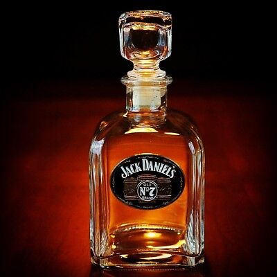 Jack Daniel's New EMPTY Barrel Medallion Decanter with stopper for sale  Shipping to Canada