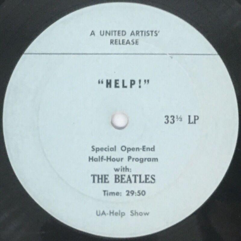 "ULTRA RARE The Beatles ""HELP!"" Special Open-End Half-Hour Program (UA-Help Show)"