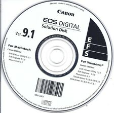 CANON EOS Digital Camera Solution Disk CD 9.1 (Viewer