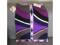 Emilio Pucci Silk Skirt never worn size 38