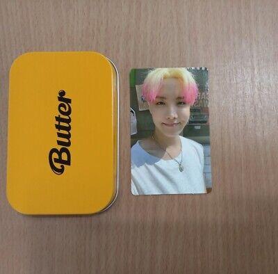BTS Butter OFFICIAL Weverse Pre-Order Benefit Cream Case + J-hope Photocard Set