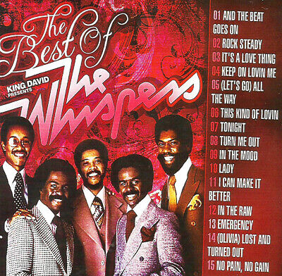 Best Of The Whispers DJ Compilation Mix CD