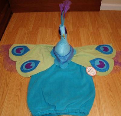 POTTERY BARN KIDS PEACOCK HALLOWEEN COSTUME NWT NEW  2T-3T 2-3 - Kids Peacock Halloween Costume