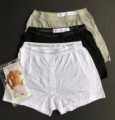 Calvin Klein 3 Pack Classic Boxer Briefs Cotton Underwear Shorts Men M L XL NEW