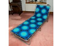 Folding bed/lounger