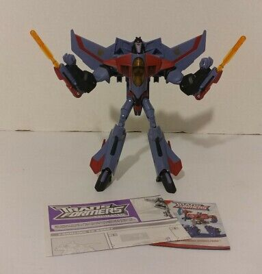 Transformers Animated Voyager Starscream 100% Complete