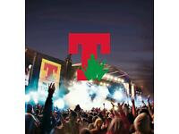 Glasgow City Centre - 2pm Friday 8th July - T IN THE PARK - NON-CAMPING