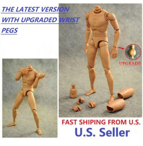 1/6 Narrow Shoulder Male Body Figure for hot toys TTM18 TTM19 TTM21 ❶US seller❶
