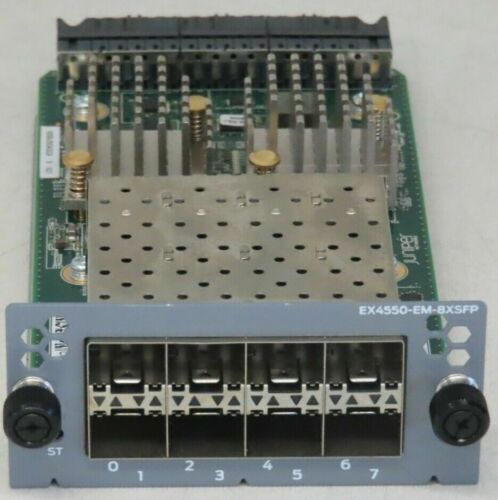 Juniper Networks EX4550-EM-8XSFP 8-Port 10G SFP+ Expansion Module 1Gb/10Gb