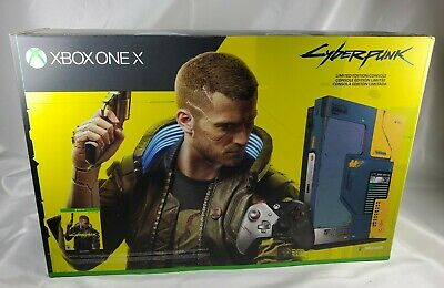 Microsoft Xbox One X 1TB Cyberpunk 2077 Limited Edition Console New Sealed