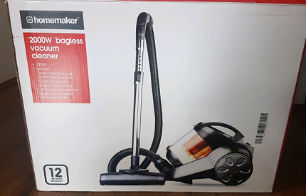 Fully operational bagless vacuum cleaner