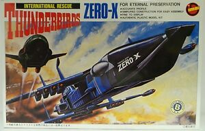 THUNDERBIRDS : ZERO-X MODEL KIT MADE BY IMAI CIRCA 1992 WE BELIEVE