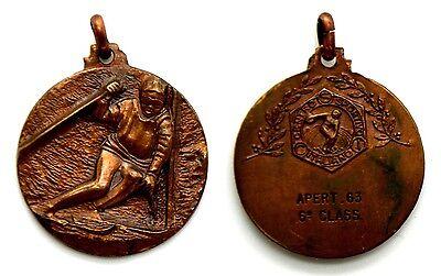 Medaglia Sportiva Sciistica CSI Centro Sportivo Italiano Apertura 1963 - 6° Clas