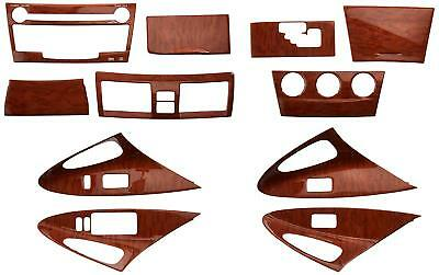 NEW GENUINE Toyota CAMRY PTS02-33081 Wood Grain Molded Dash Applique KIT - 11 Pc ()